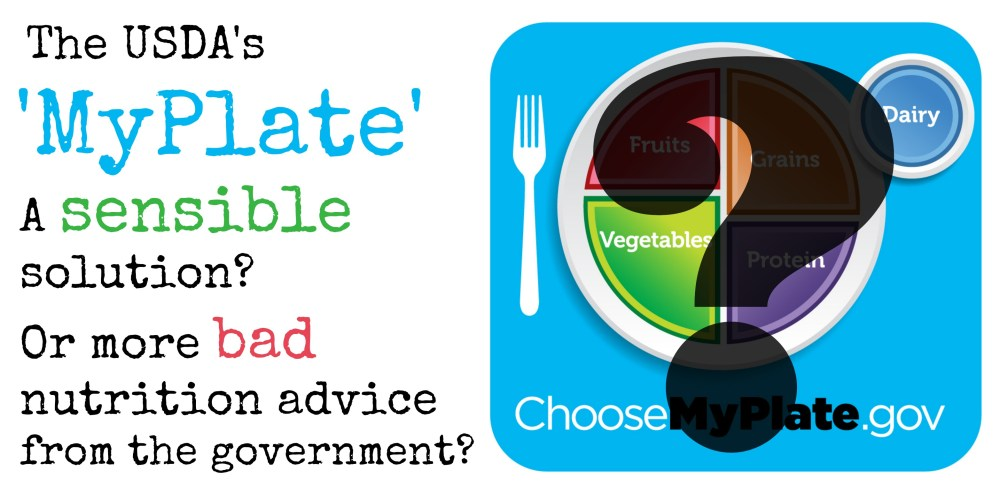 medium resolution of is myplate more of the same bad nutrition advice from the government or