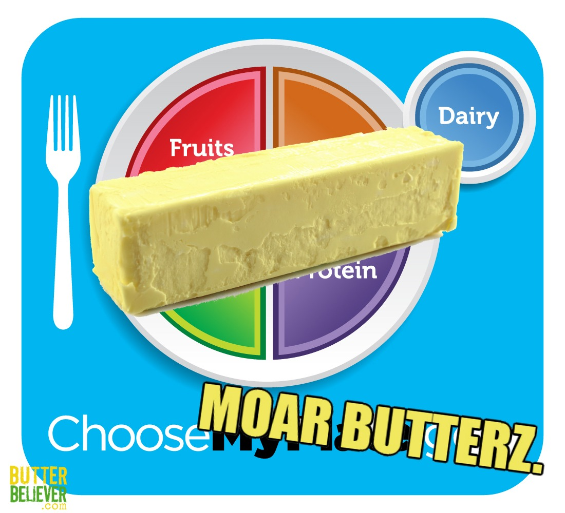 hight resolution of the usda myplate updated by butter believer
