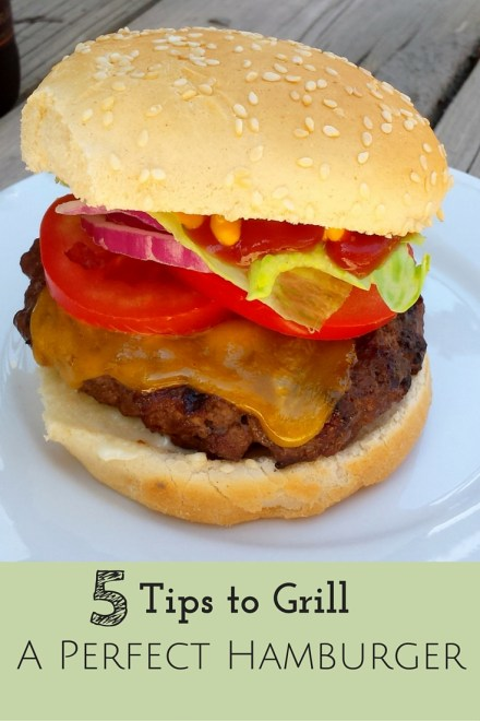 5 Tips to Grill a Perfect Hamburger