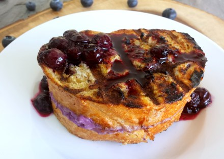 Grilled Stuffed French Toast