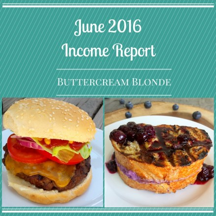 Income Report June 2016