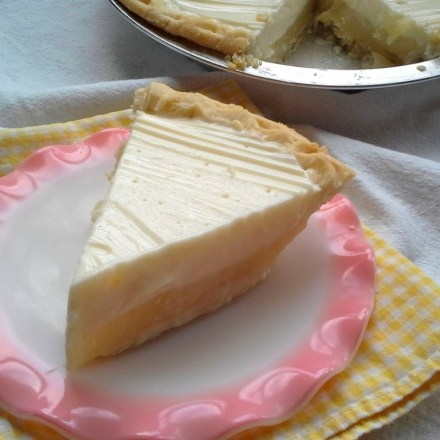 Sour Cream Lemon Pie SQ