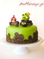 angry birds cake-2wtr