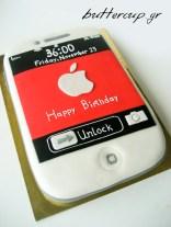 iphone cake-2wtr