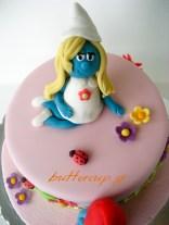 smurf cake-4wtr