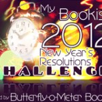 My Bookish 2012 New Year's Resolutions Challenge