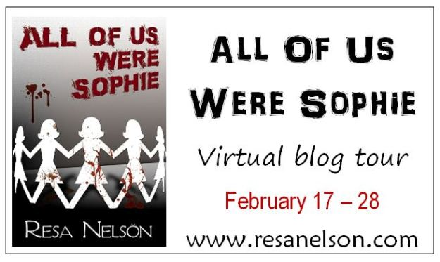 All Of Us Were Sophie blog tour button