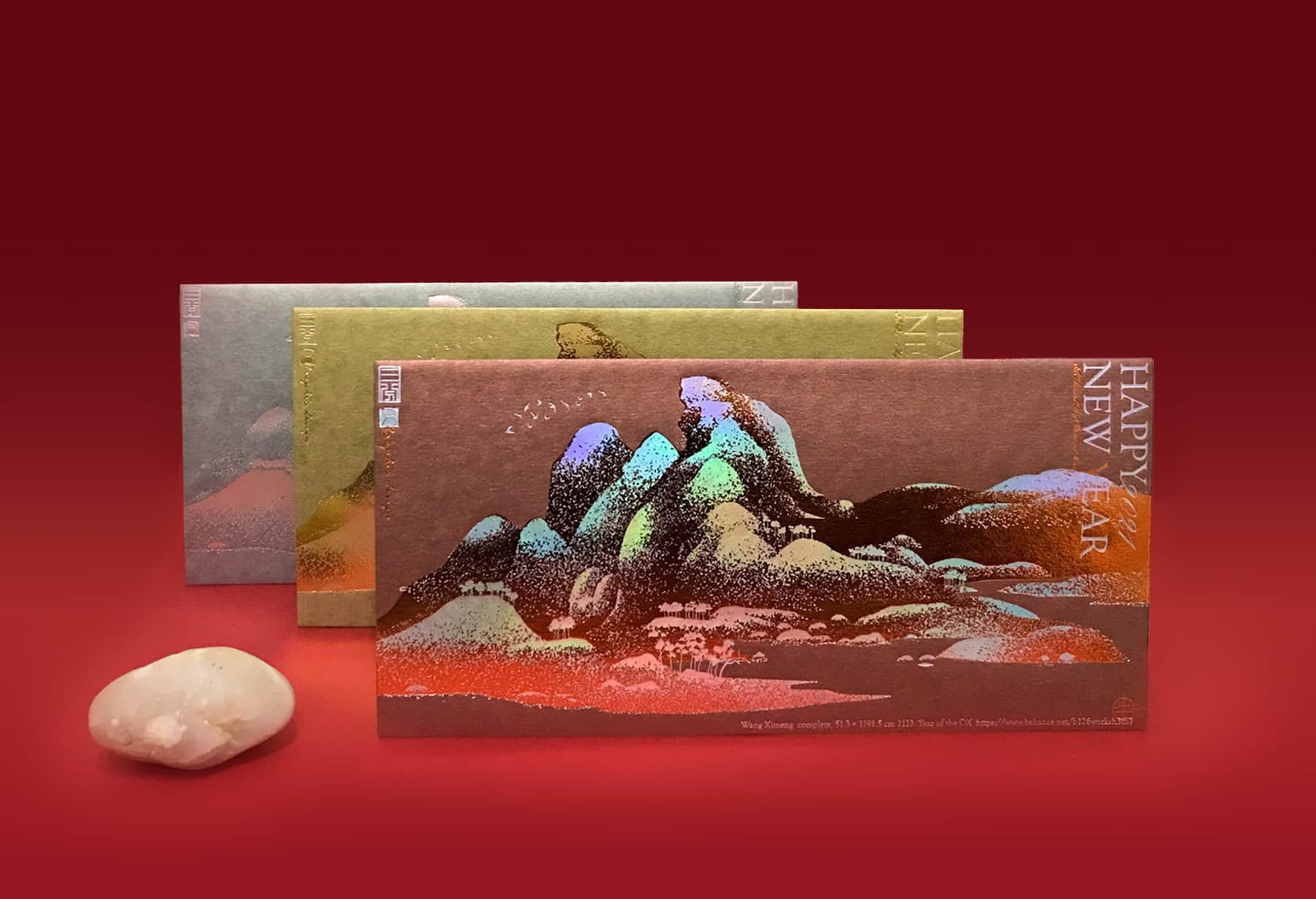 從寶石古畫顏料學習 — 古典高貴的紅配綠