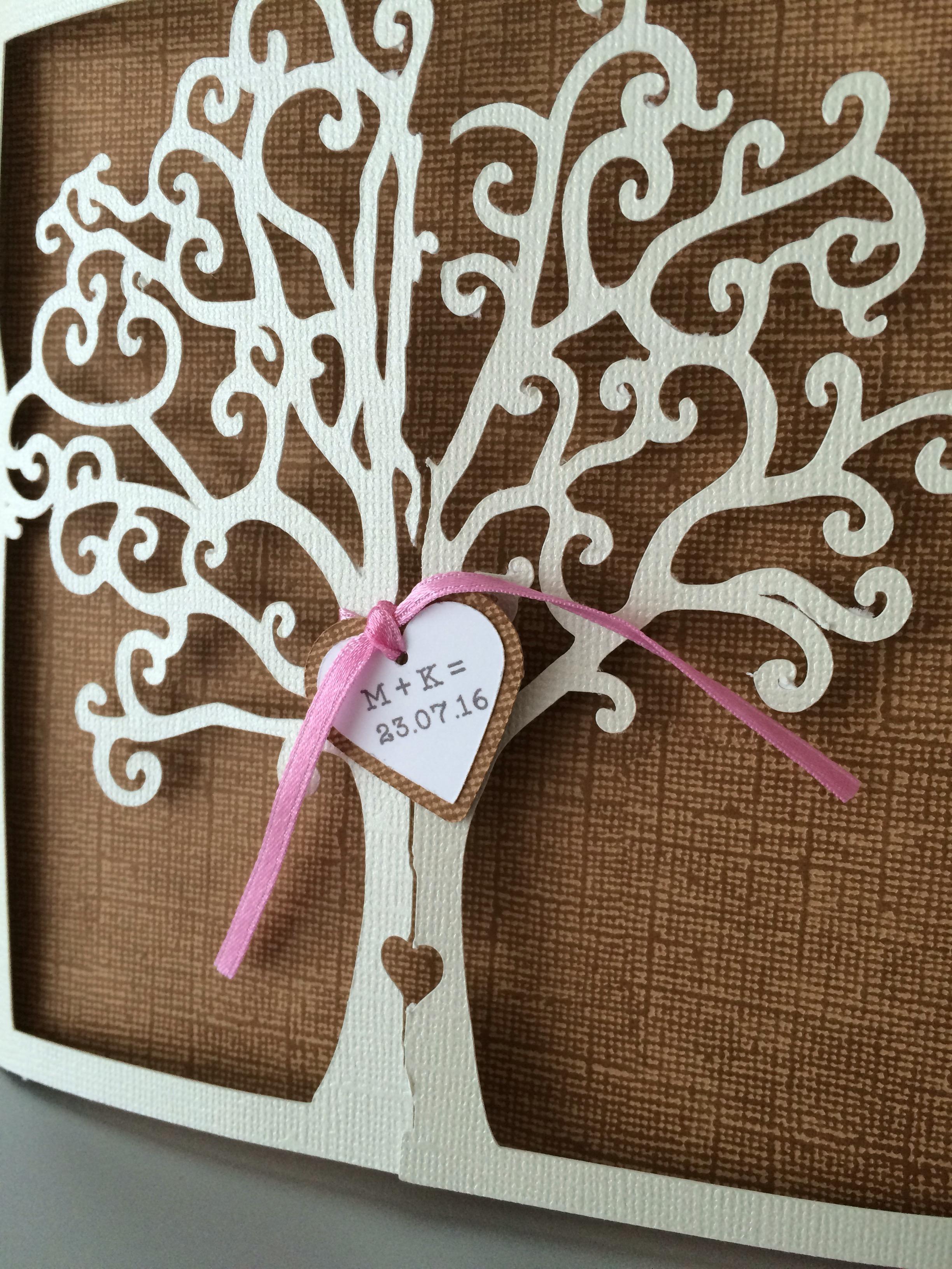 Glueckwunschkarte Hochzeit Basteln Einfach