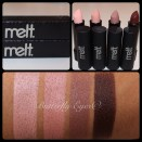 Collage of Melt Cosmetics NoOd Collection