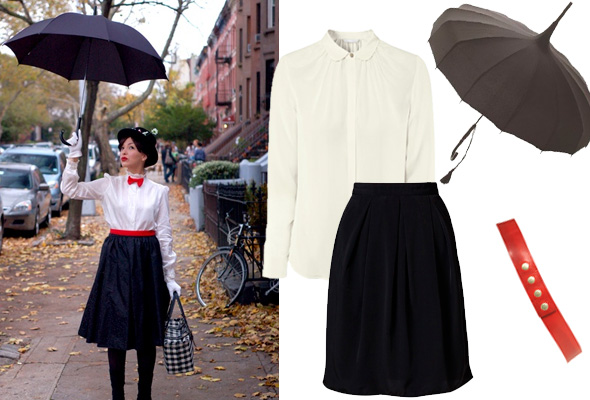Mary Poppins Halloween Kostüm