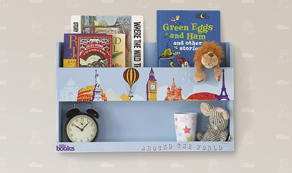 tidy books - bunk bed buddy