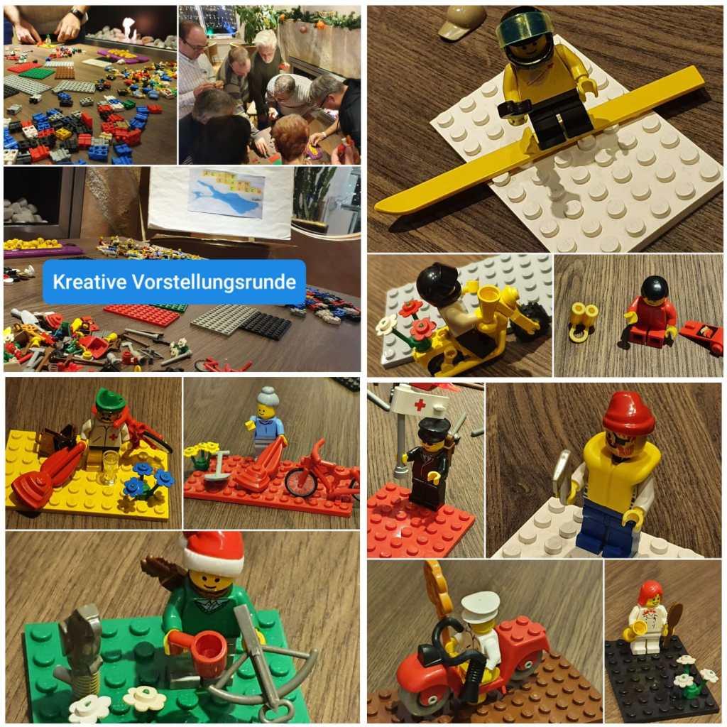 kreatives Warm-Up Spiel / Vorstellung mit Lego