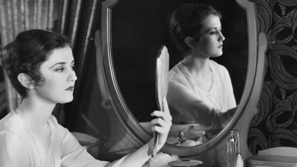 Lady looking in mirror-What is Identity in Christ?
