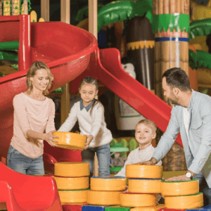 Parents playing with kids-how to develop strong character