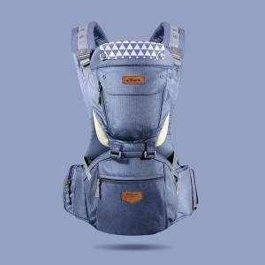 ergonomic baby carrier navy blue