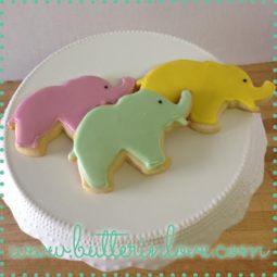 Elephant Cookies