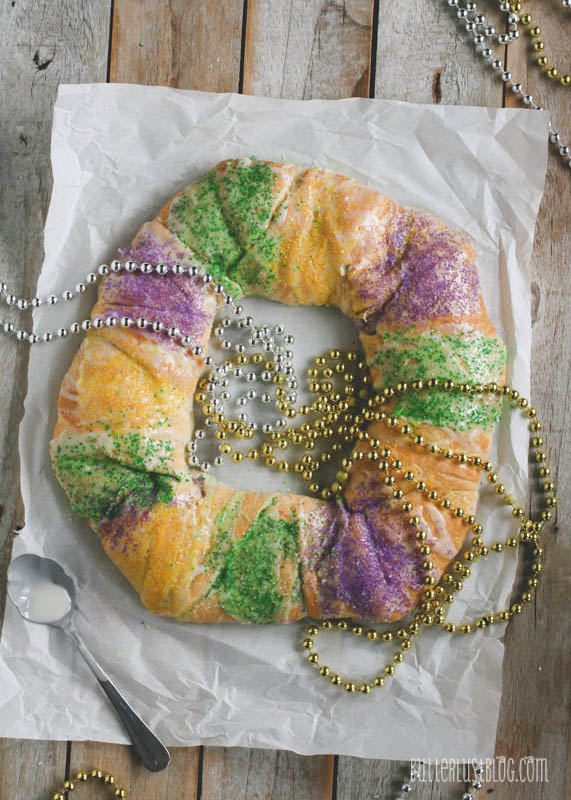 Crescent Roll King Cake Er
