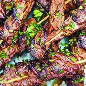 Chimichurri Beef Skewer