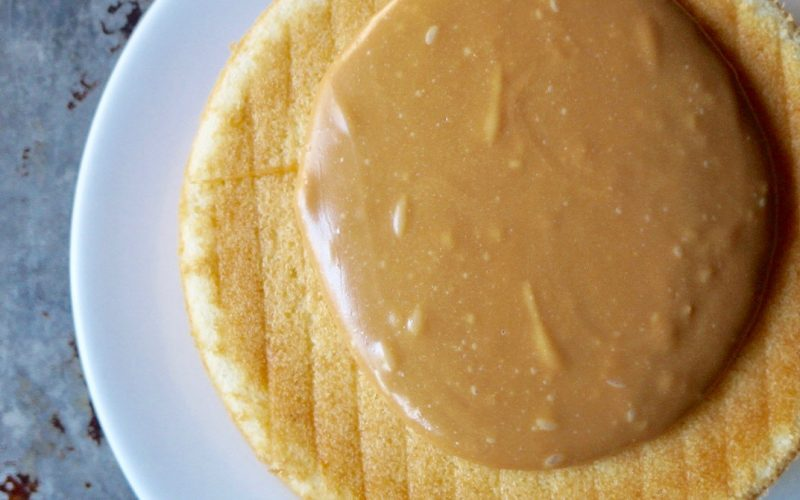 Old Fashioned Cooked Caramel Icing