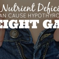 The Nutrient Deficiency that can cause Hypothyroidism and Weight Gain