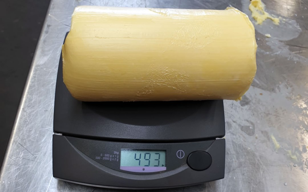 Butter Portioning Slicing into Logs or Cylinders