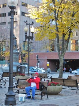 Street musicians MAKE a city.