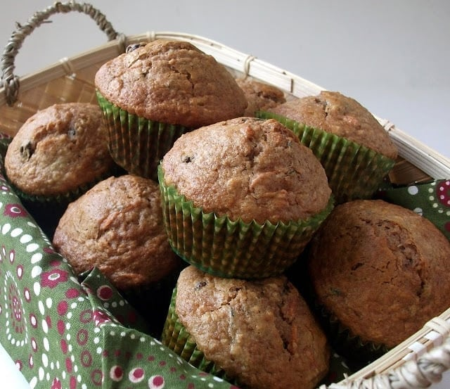 I apologize in advance for you all having to put up with my muffin craving this pregnancy. I don't know what it is, but I just adore muffins lately!