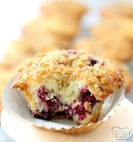 Best Blueberry Muffins that are light, flavorful and full of sweet, juicy blueberries! Family favorite recipe that's been perfected over the years. Everyone loves the buttery streusel topping!
