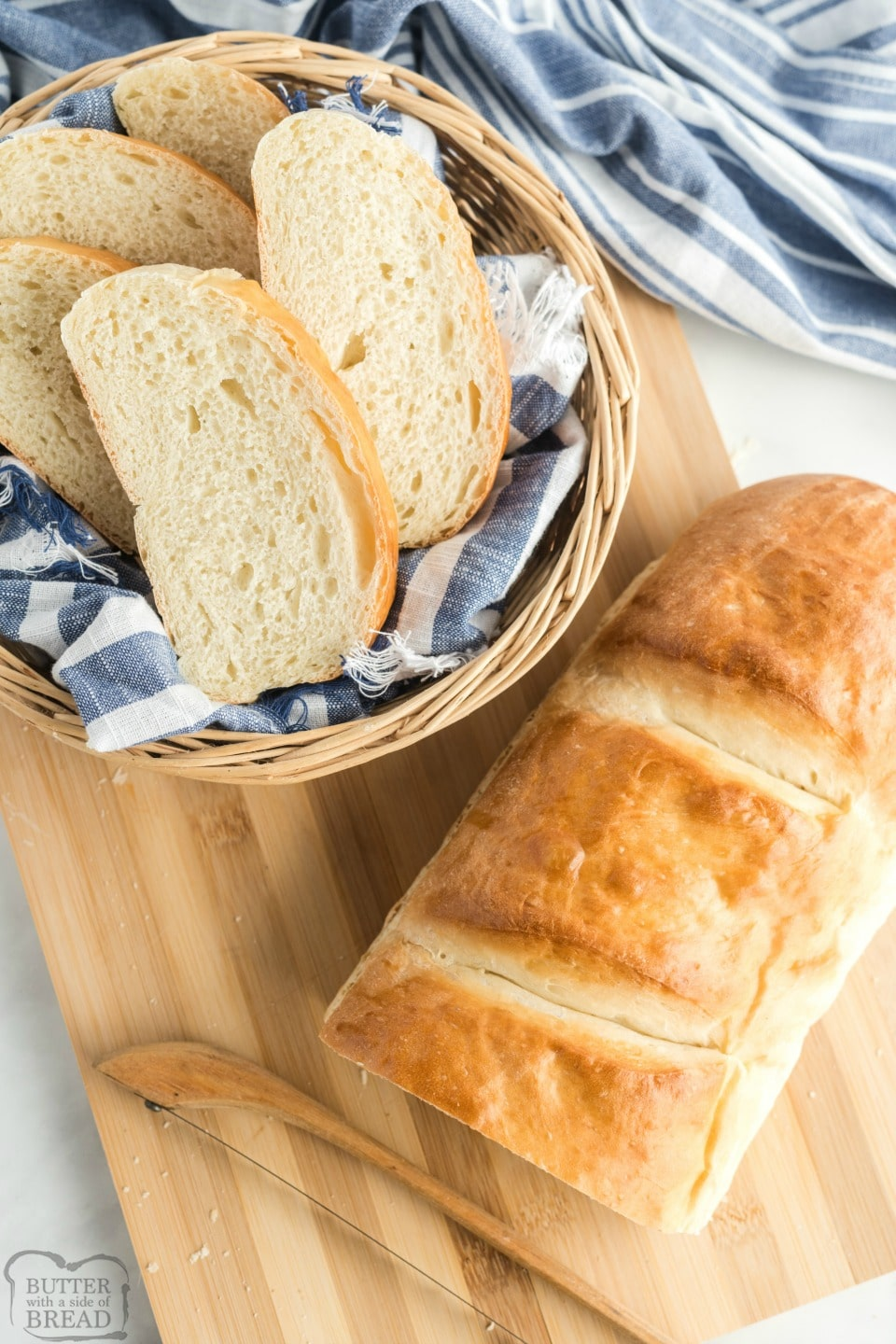 Easy Homemade French Bread recipe