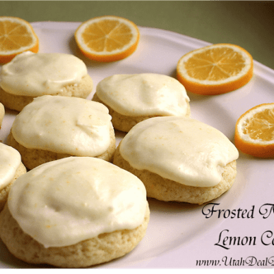 FROSTED MEYER LEMON COOKIES