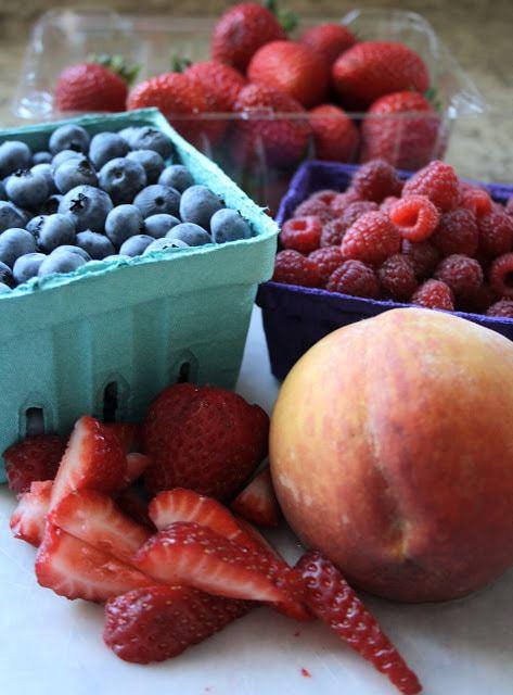 Mini Fresh Fruit Tarts www.ButterwithaSideofBread.com