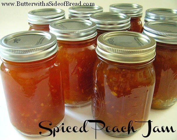 With peach season in full swing here in Utah, I wanted to share this wonderful recipe for Spiced Peach Jam. It's actually my husband's grandmother's recipe that I recently got permission from her to share with you all. Thanks Nana!