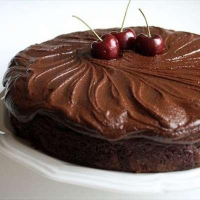 LION HOUSE CHERRY CHOCOLATE CAKE