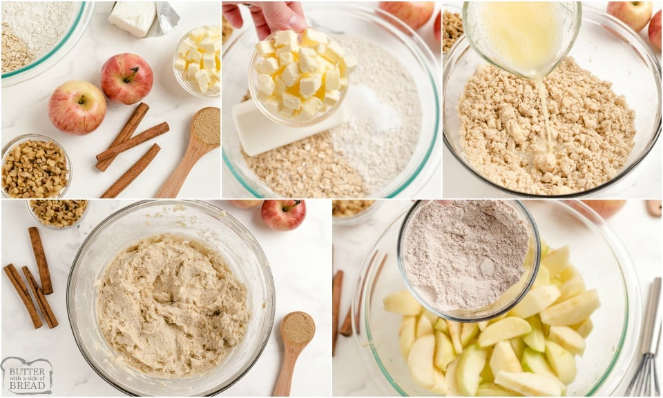 How to make Easy Apple Pie Bars recipe