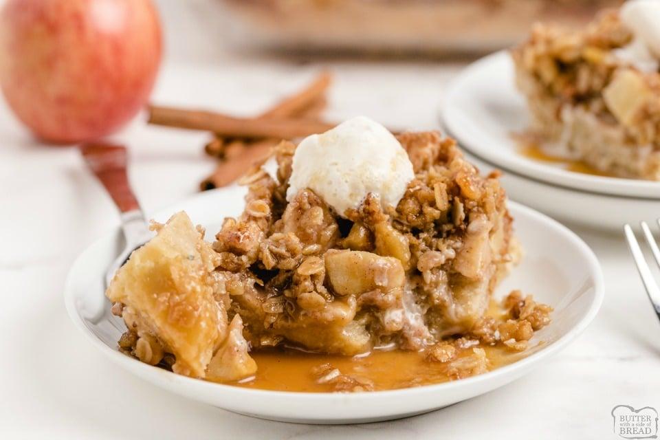 Easy Apple Pie Bars recipe