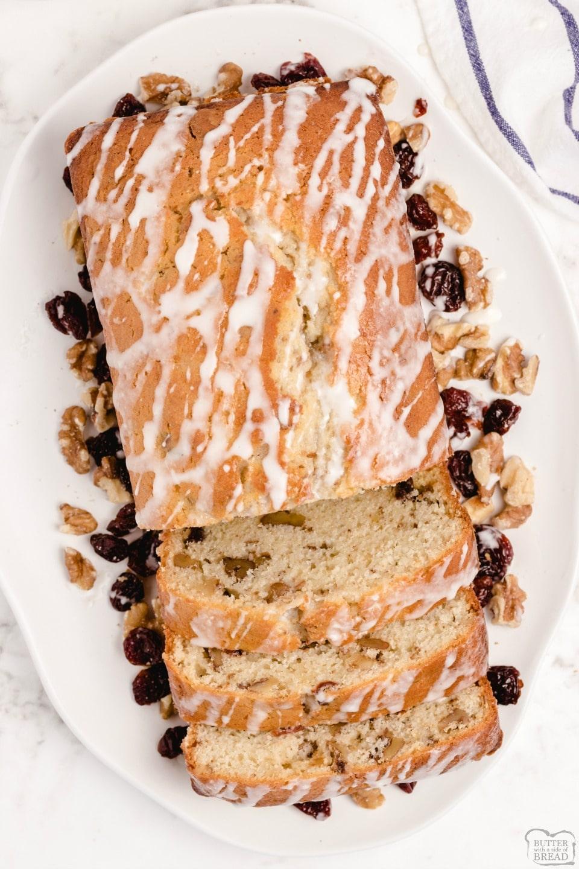 Sweet Cherry Quick Bread recipe