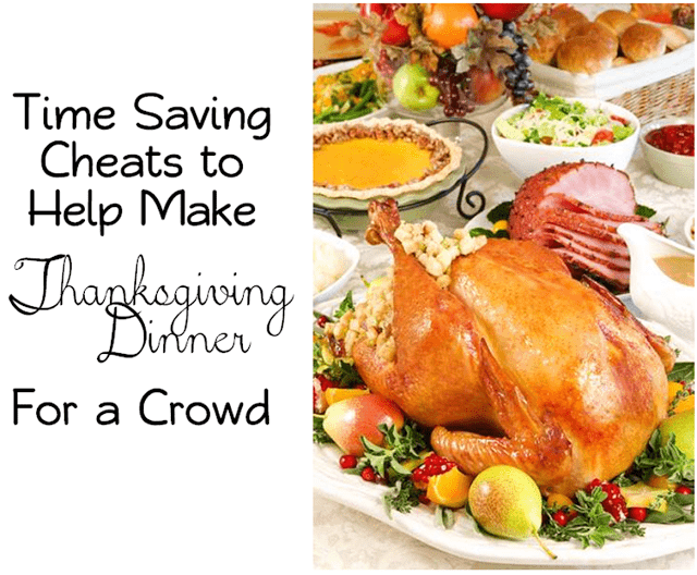 homemade vs store-bought, time saving tips for cooking thanksgiving dinner for a crowd, Butter with a Side of Bread