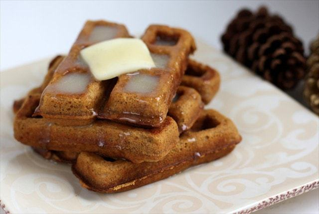 Gingerbread Waffles: Butter with a Side of Bread