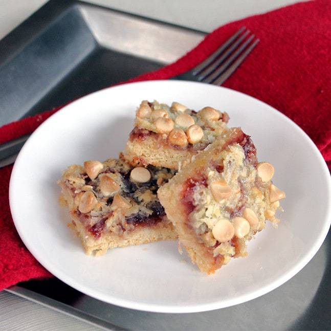 Raspberry Shortbread: Butter with a side of bread