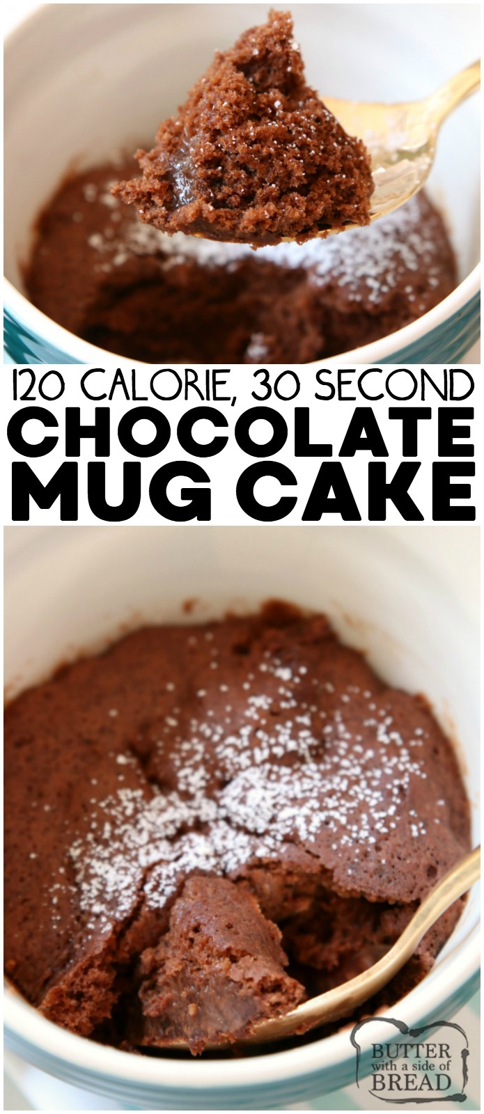 100 Calorie Chocolate Mug Cake Recipe Butter With A Side