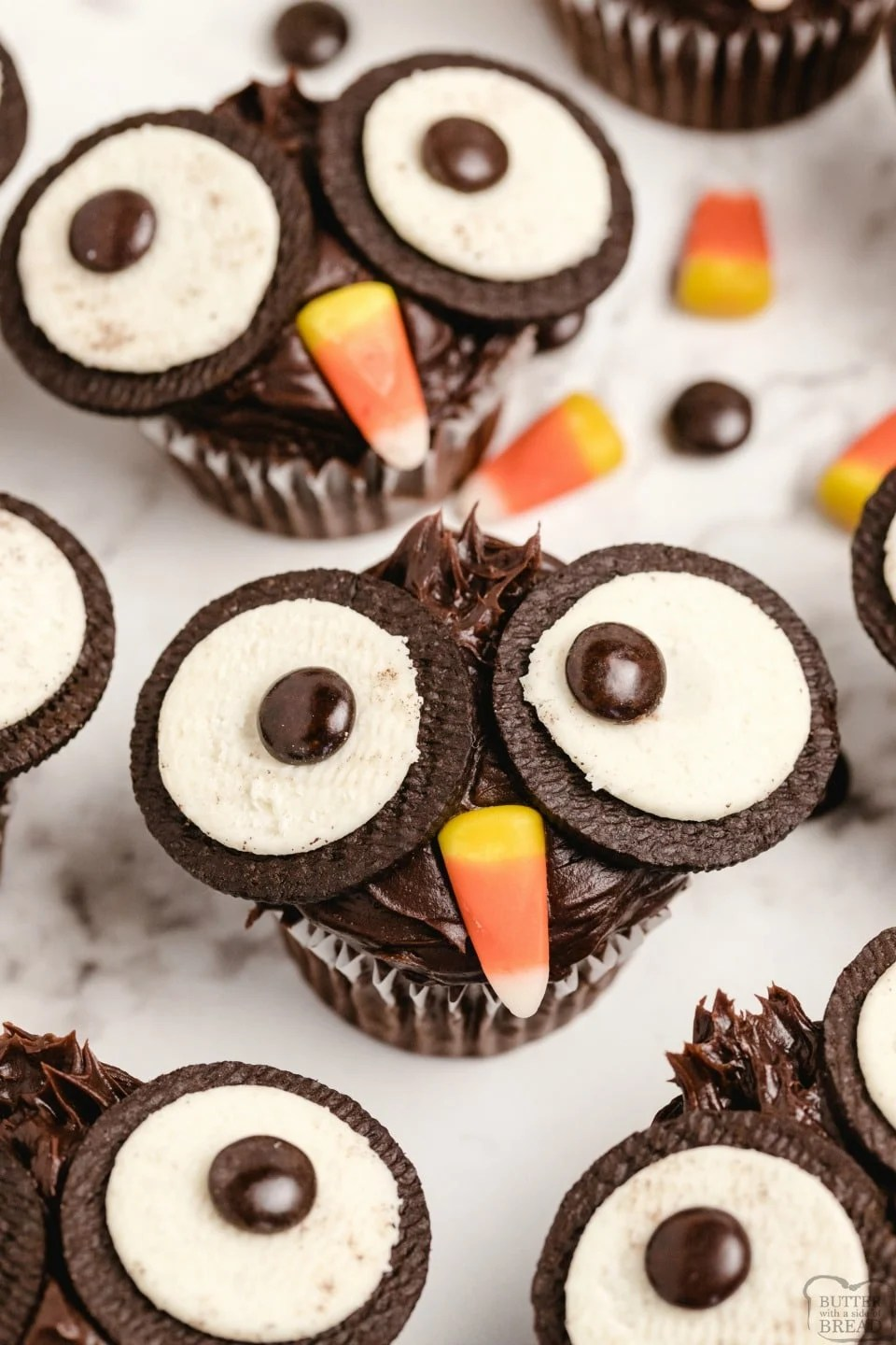 How to make Oreo Owl Cupcakes