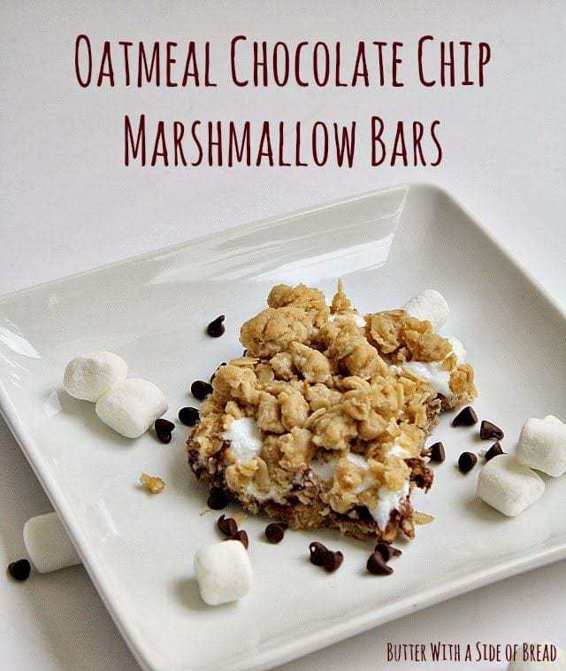 OATMEAL CHOCOLATE CHIP MARSHMALLOW BARS