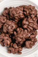 Easy Chocolate Nut Clusters