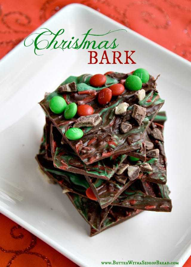 This Chocolate Christmas Bark is the perfect (and easy!) dessert to take to your holiday party this season!