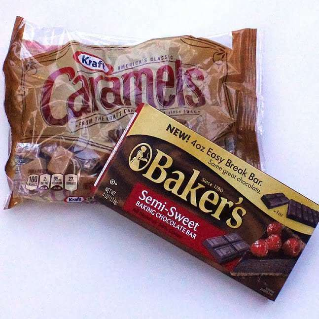 Chocolate Covered Caramels:Butter with a side of bread