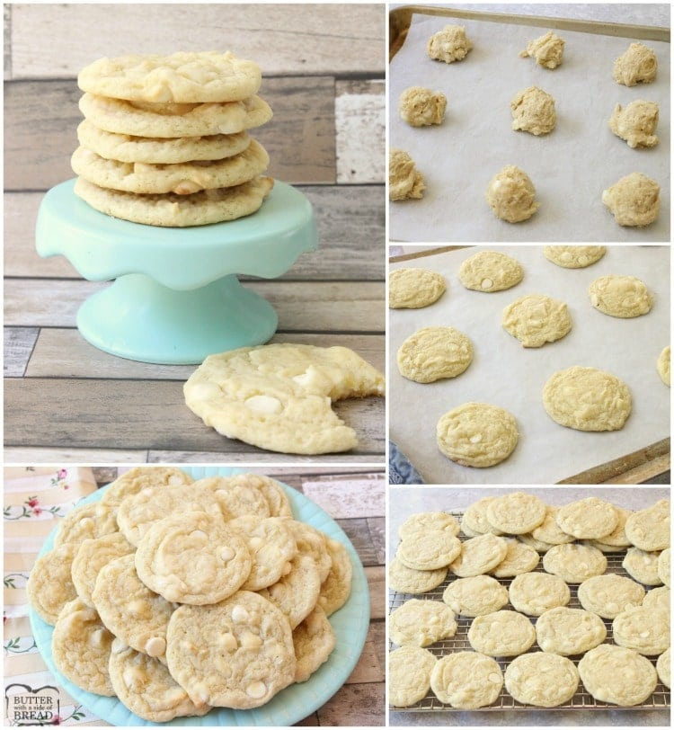 Banana Cream Cookies are a classic banana cookie recipe with a twist! They have a great soft, chewy texture that comes from banana pudding mix plus a whole banana. Banana cream pie lovers- you've got to try these banana cookies!
