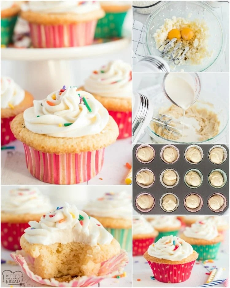 how to make sugar cookie cupcakes for Christmas and Birthdays
