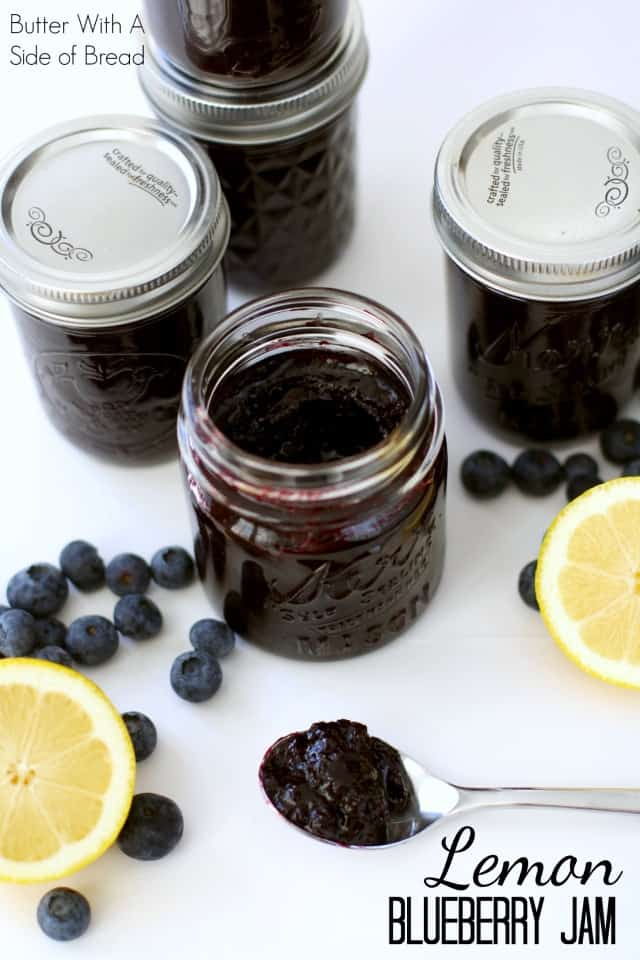 LEMON BLUEBERRY JAM
