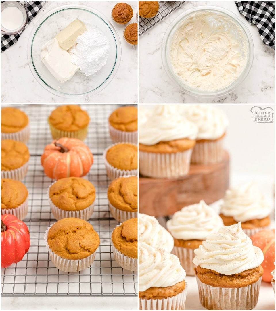 How to make Best Pumpkin Spice Cupcakes with Cream Cheese Frosting